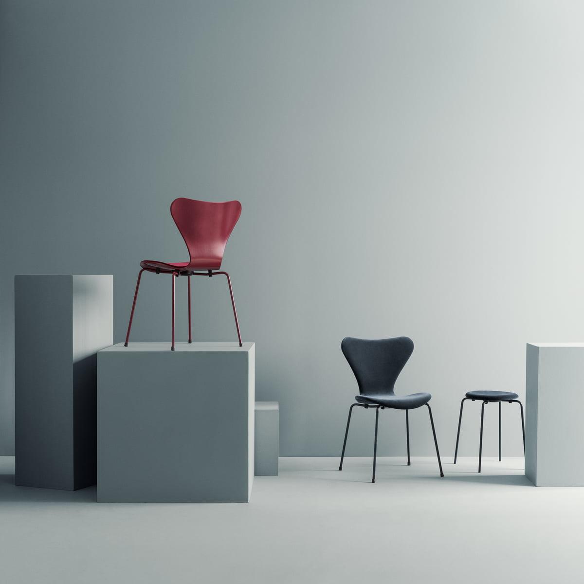 丹麦设计 天鹅绒软垫椅子 五金玻璃钢餐椅休闲椅电脑椅