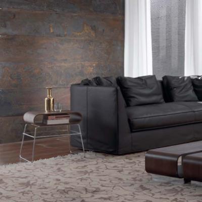 规格颜色定制 北欧大师设计三人沙发大三人多人沙发布艺