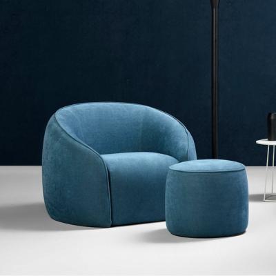可定制 北欧家具设计师 休闲椅布艺休闲椅家具 布艺椅子面料可定制