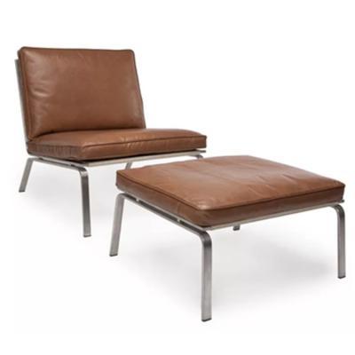 定制 设计师北欧酒店样板房售楼处会所办公室休闲躺椅 家具