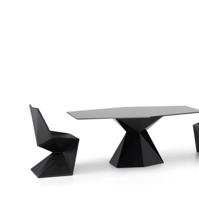 玻璃钢菱形 茶几多人餐桌 北欧家具 个性定制圆形方形桌子