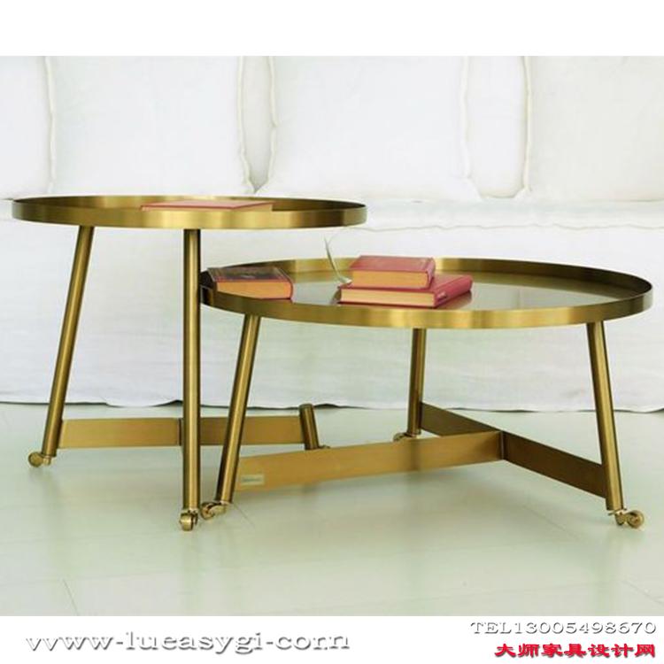 不锈钢茶几 个性设计家具设计网 五金家具 电镀