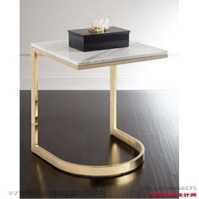 不锈钢 大理石 地产样品房 家用商用家具设计 五金电镀茶几边几角几