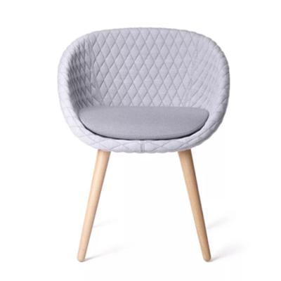 设计师实木咖啡厅餐椅子靠背休闲椅酒店样板房 地产样品房 家用商用家具设计