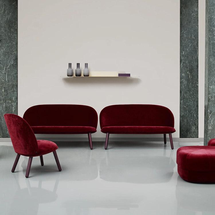 设计师经典客厅图书馆样板间售楼处写字楼沙发 个性设计最美家具设计网