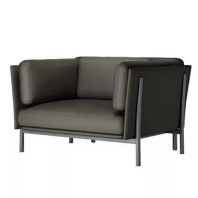 设计师扶手椅沙发酒店宾馆别墅写字楼样板房 个性设计家具设计网 五金家具