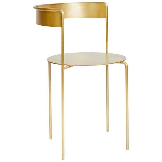 设计师 Pedro Paulo Venzon 五金不锈钢餐椅吧椅电脑椅 酒吧