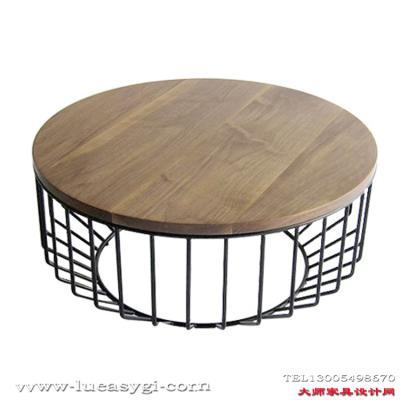 经典设计师家具 金属咖啡桌 创意茶几个性设计家具设计网 玻璃五金家具