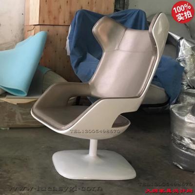 玻璃钢+海锦+皮质躺椅 休闲椅 电脑椅 酒店 会所 科技 化验室 北欧欧美家具高端个性定制