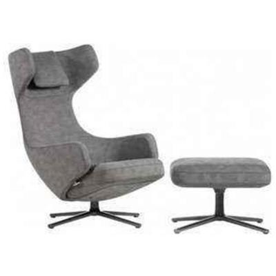 宜家定制设计师椅Vitra Grand Repos chair  维特拉无耳朵休闲躺椅