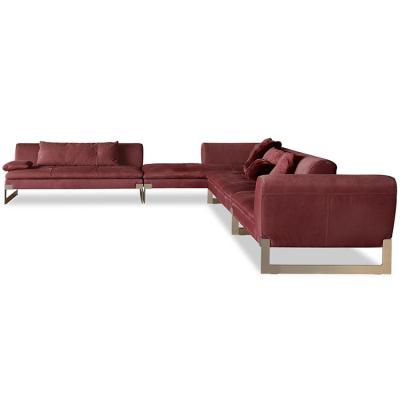 个性设计家具设计网 五金家具Baxter Viktor Sofa 沙发  家具百特巴克斯特