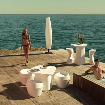 创意设计师家具 moma aire low 花园边桌玻璃钢户外吧台桌