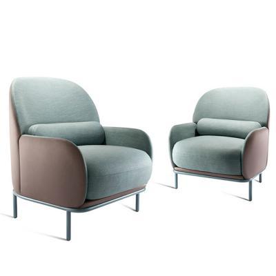 丹麦GUBI休闲椅接待椅Beetley Armchair 会议酒店地产样品房展示椅