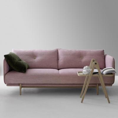 sofa北欧布艺沙发两位设计师样板房酒店约家款