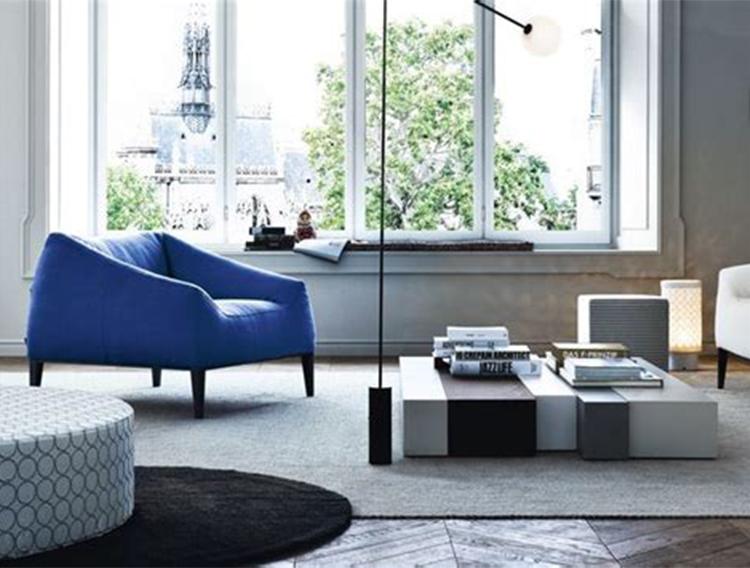 布艺 简约现代休闲设计师创意经典时尚布艺可拆洗沙发 面料规格颜色可定制 高端家具