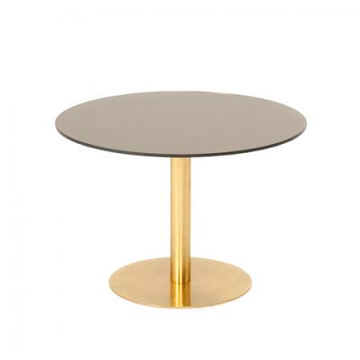 餐桌 英国闪耀系列 黄铜 圆形茶几  圆桌Gubi 2.0_Dining Table圆形餐桌丹麦设计师 家居豪宅 规格颜色可定制 高端家具
