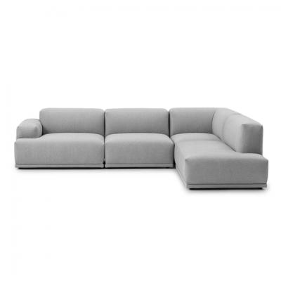 居家豪华 经典耐看百搭 丹麦联结 组合式沙发 三人座 L 型转角沙发