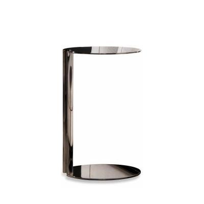L型方形圆形茶几桌子 边几角边 表情性感家具 304不锈钢电镀 黑 白 金 银色 北欧复古