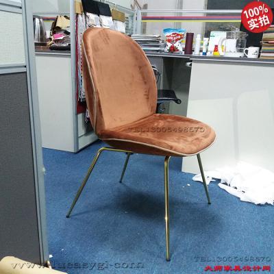 吧椅餐椅电脑椅 304不锈钢电镀玻璃钢模型+内胆 居家豪华 经典耐看百搭 美容美甲椅