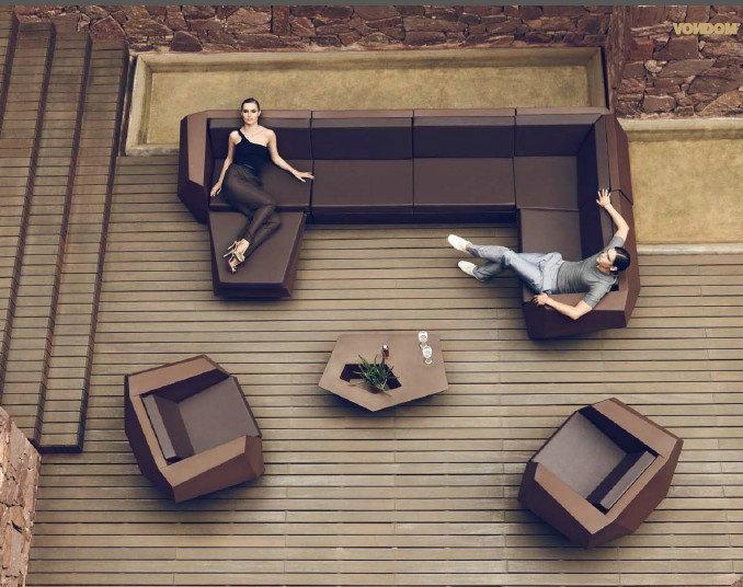 玻璃钢茶几大小款 边几角几 商务区写字楼办公楼高端 线条感优美