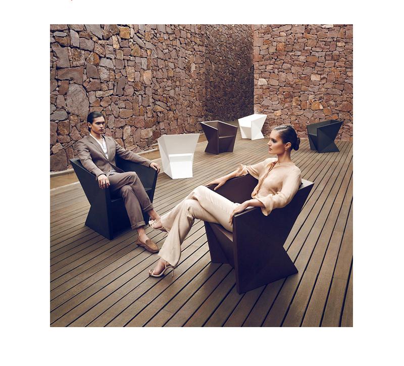 菱形温顿沙发 玻璃钢 餐椅美容美发椅 商务区写字楼办公楼高端