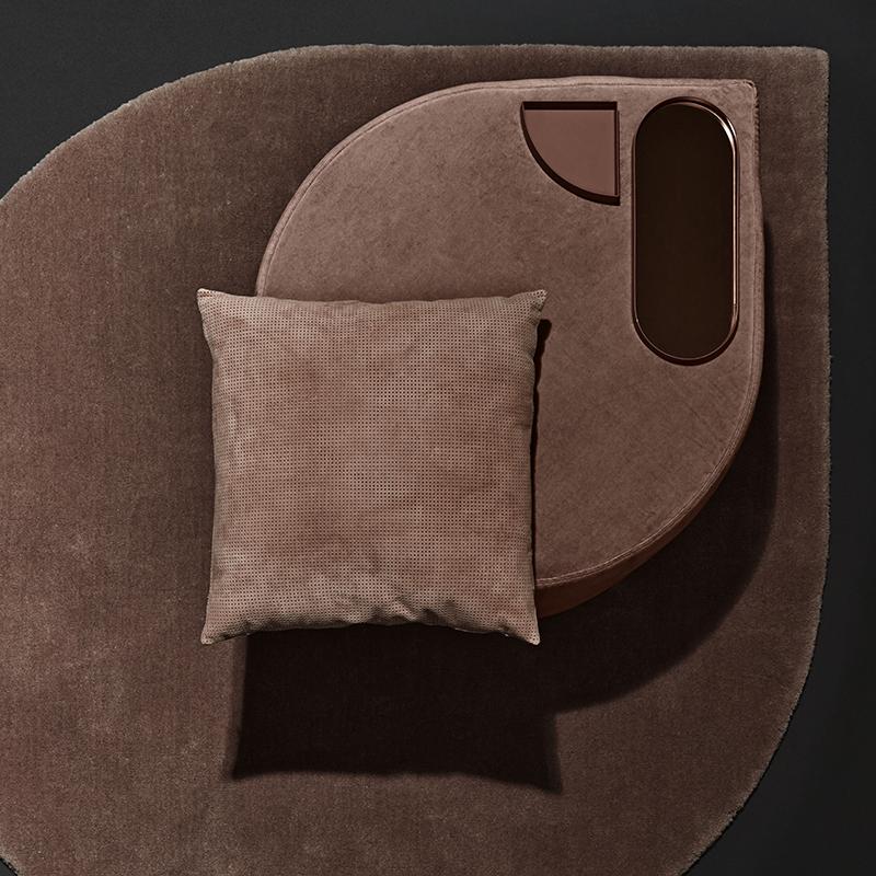 居家豪华 经典耐看百搭 水滴天鹅绒丝绒沙发凳脚凳圆凳咖啡桌  北欧设计
