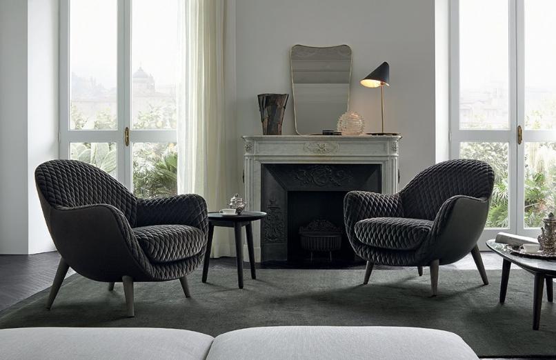 创意椅单椅休息椅 洽谈椅 玻璃钢布艺沙发 居家豪华 经典耐看百搭