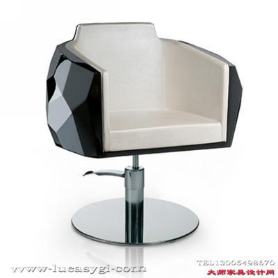 玻璃钢PU布艺皮革椅 方块钻石椅水晶椅烤漆酒店配套餐椅美容美甲 护肤养生美发