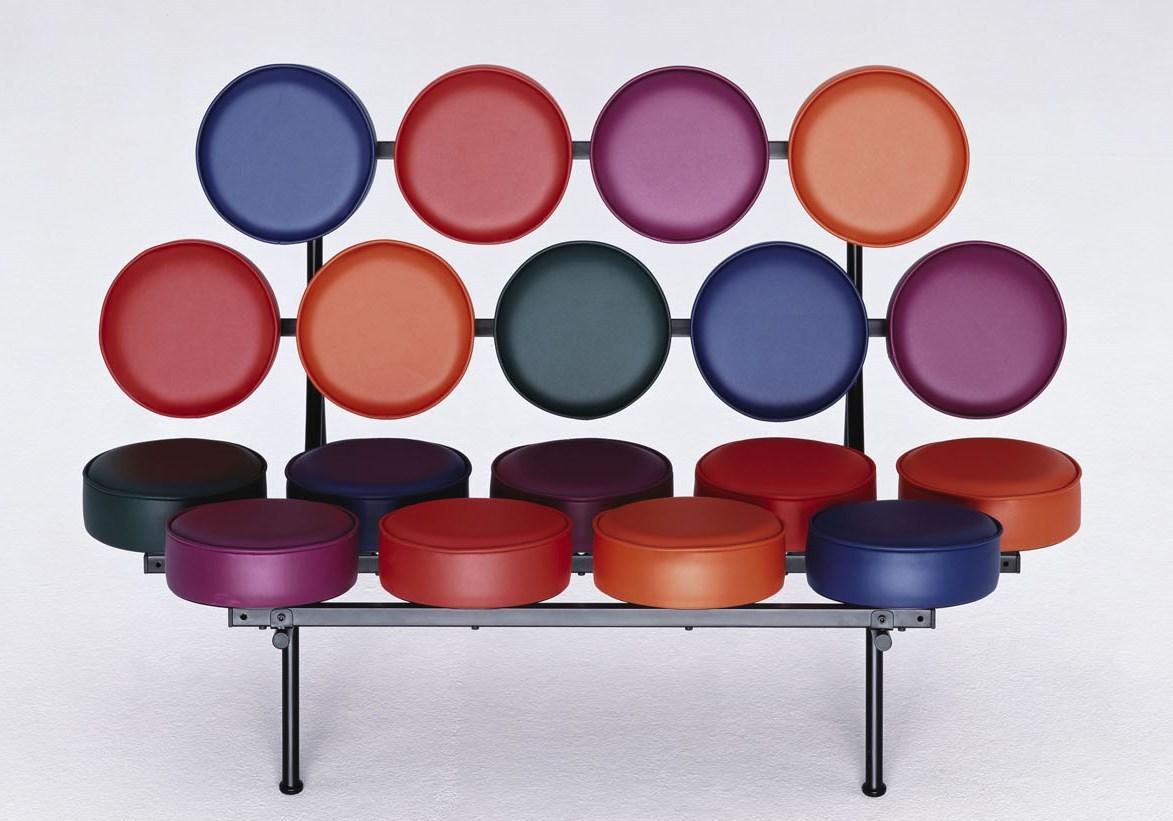 意大利美国棉花糖商务Sofa糖果沙发尼尔森 颜色可定 彩色沙发真皮棉花糖糖果沙发