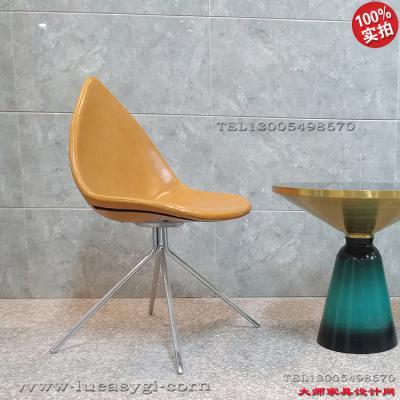实物现货欧美设计师北欧风格家具树叶椅尖嘴尖角椅 电脑椅