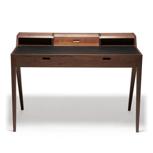 DARESTUDIOKATAKANAWRITIN DESK 经典胡桃木书桌带抽屉实木桌