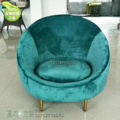实物:新古典奢华沙发椅简约时尚休闲椅定制 美国设计师 美容护肤养生家具