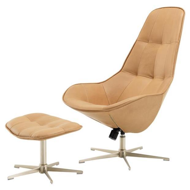 旋转椅Boston chair by Boconcept 简约现代波士顿老板休闲舒适椅