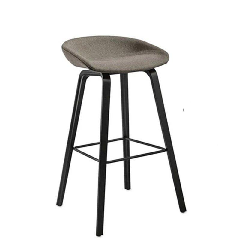 HAY吧椅全软包AAS33 坐墊木腳吧台椅丹麥 Hee Welling
