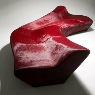 Moraine sofa 冰碛沙发 ZAHA HADID 扎哈哈迪德设计 酒店大堂沙发