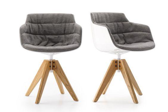 北欧设计师休闲椅 可旋转 木脚软包 建筑室内设计 个性设计家具设计网 杯子咖啡椅