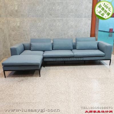 五金烤漆脚多人沙发 架意大利米歇尔角落沙发 安东尼奥西特里奥