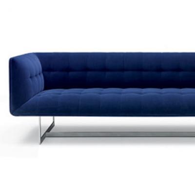 北欧大师设计 设计师经典家居办公接待爱德华时尚沙发Poliform sofa