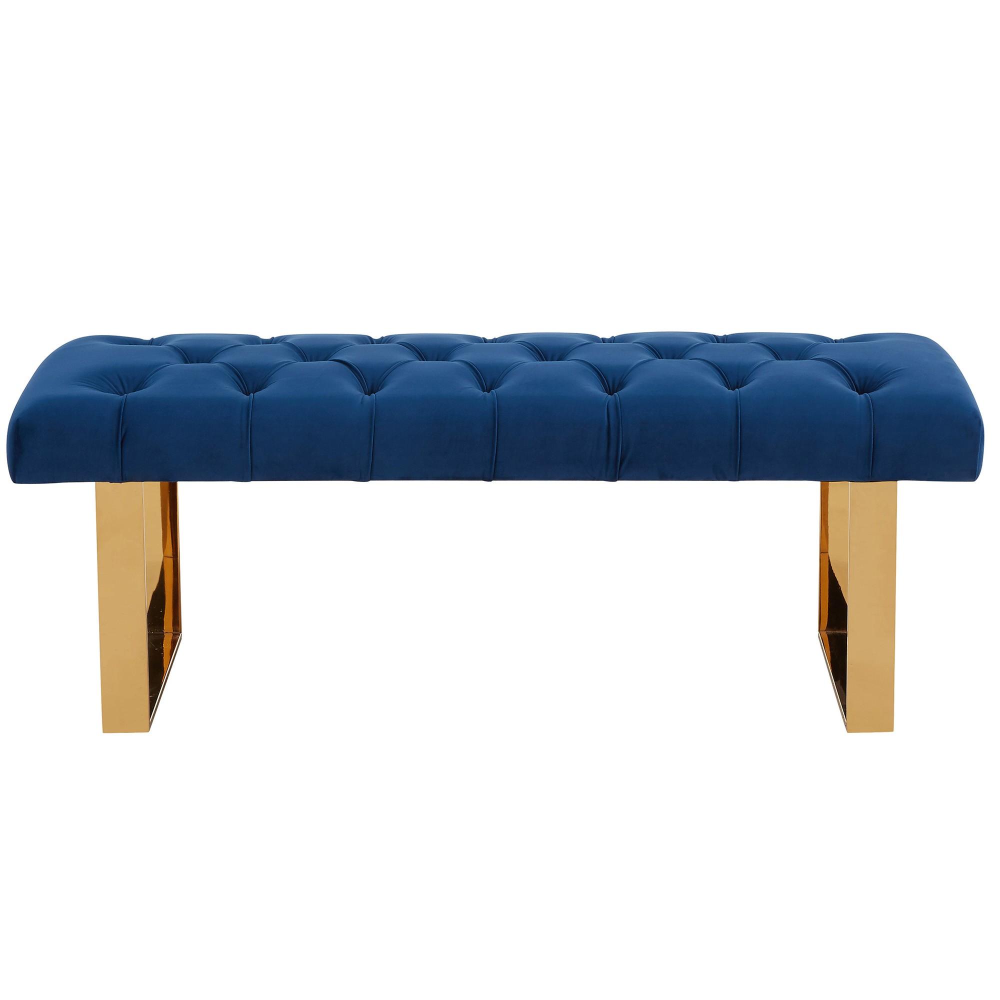 大师设计 不锈钢电镀金色玫瑰金 绒布PU真皮 设计师商场换鞋凳 家居长凳 脚踏 沙发