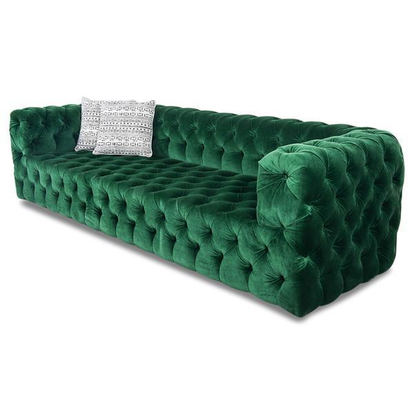 拉扣 绒布家具 设计师家居大堂 项目接待创意新款沙发 规格面料可定制 欧式风格