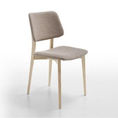 新中式木脚餐椅 实木家具 Joe Eat chair by Midj 规格颜色可定制 酒店餐厅会所亚洲家具