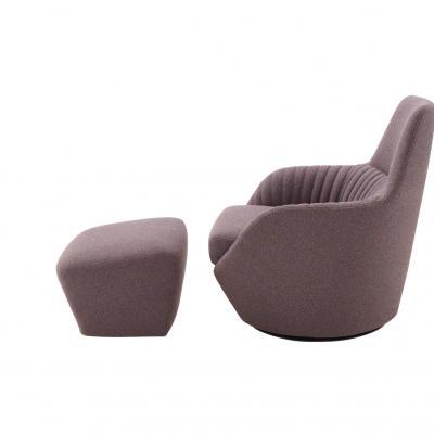 法国写意空间Ligne Roset Sofa设计师商务会所样板房接待新款布艺沙发LIGNE ROSET
