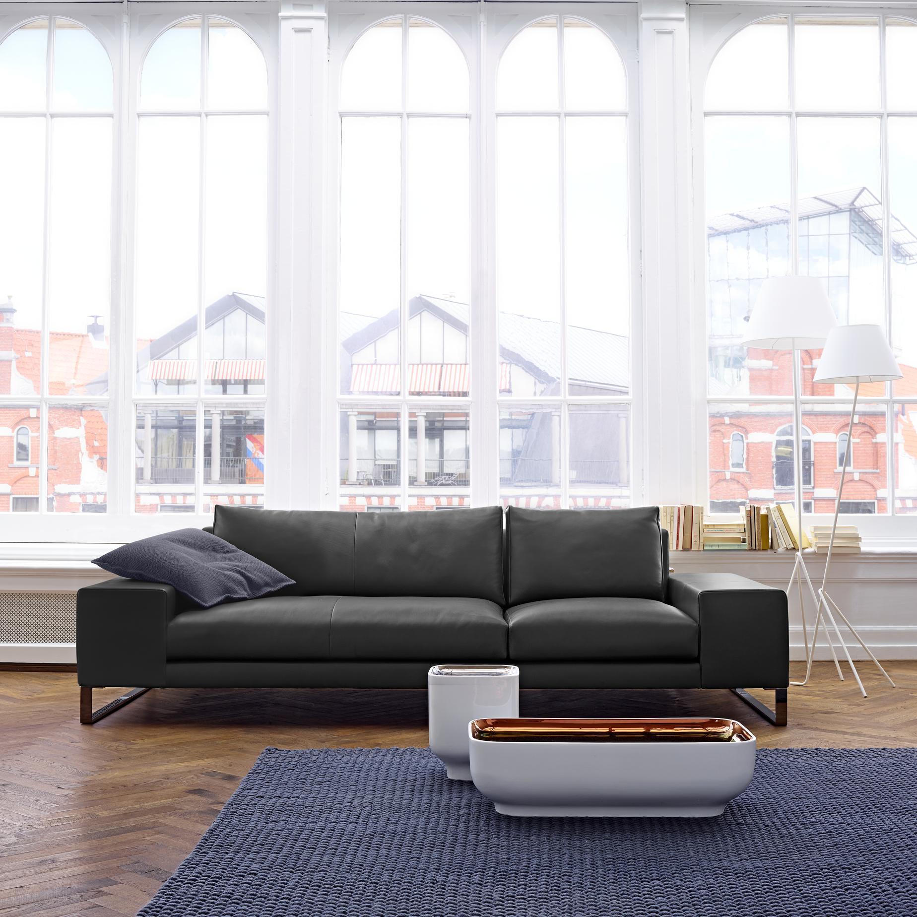 大师设计 布艺沙发LIGNE ROSET写意空间EXCLUSIF2 sofa 沙发 意大利家具