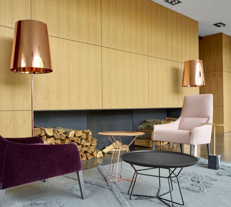 法国家具写意空间Ligne Roset armchair 扶手椅 面料颜色可定制