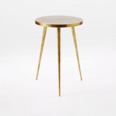 Cast Tripod Side Table 不锈钢电镀 钢铁烤漆 全屋整装家具定制家居设计实木烤漆 茶几边几角几
