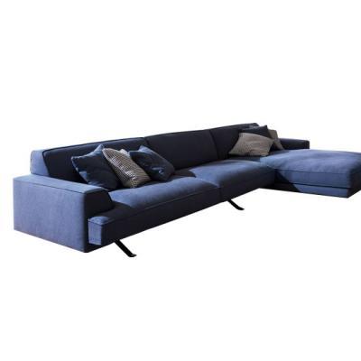 Bonaldo  Slab Plus sofa 沙发 五金脚布艺皮质多人贵妃沙发