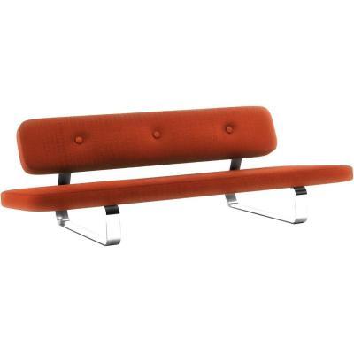 Moooi Power Nap  Sofa 三人沙发多人沙发不锈钢简洁脚弯脚 钢板脚 电镀无指纹