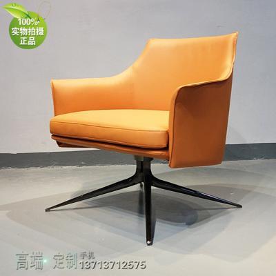 休闲椅餐椅 兔子椅 北欧设计师新款 不锈钢五金脚 西皮真皮布艺