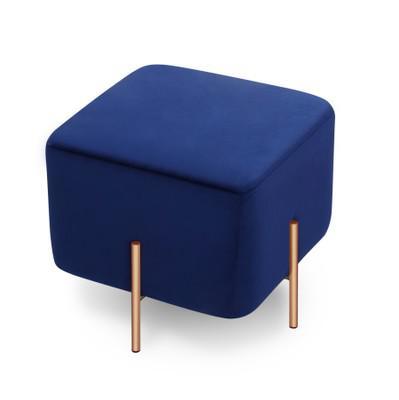 换鞋凳矮凳豆腐块布艺绒布大象椅北欧Nadadora沙发凳大象椅长凳 elephant stool 凳墩榻