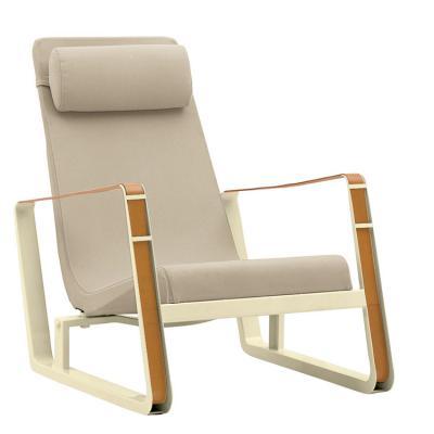 北欧设计师躺椅prouvé cité lounge chair名师设计酒店卧室搭配休闲椅